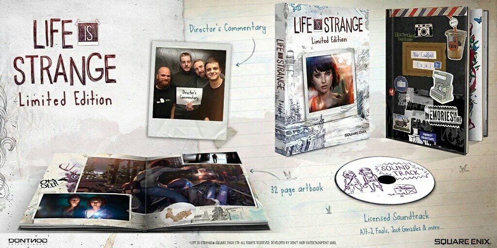 Life Is Strange Boxed Limited Edition