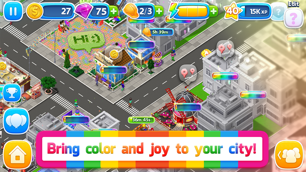 Pridefest game screenshot
