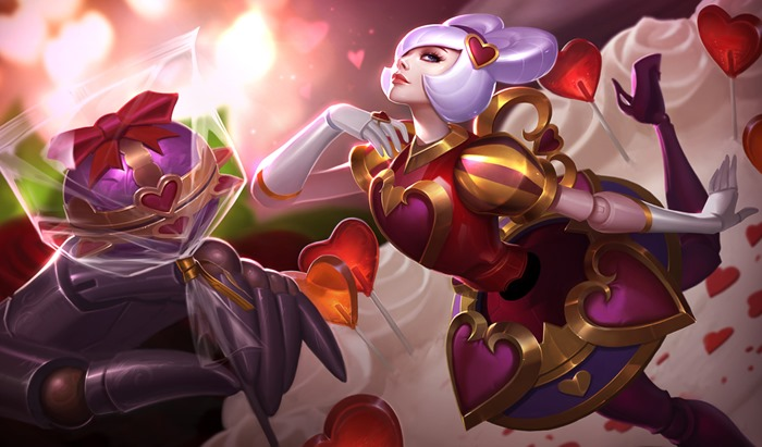 League of Legends Heartseeker Orianna skin wallpaper