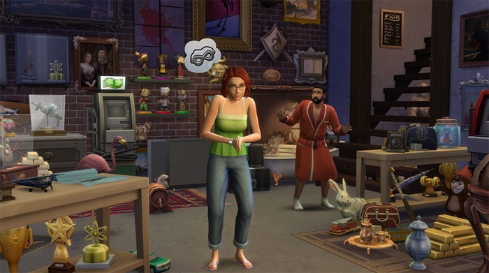 The Sims 4 Kleptomanic trait screenshot