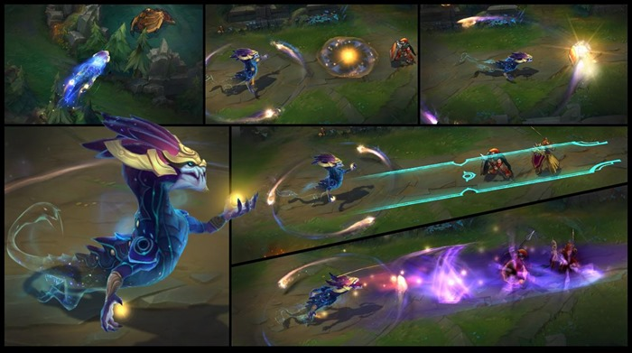 League of Legends Aurelion Sol abilities screenshot