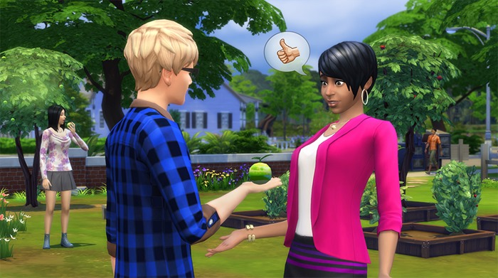 The Sims 4 Spring Challenge screenshot