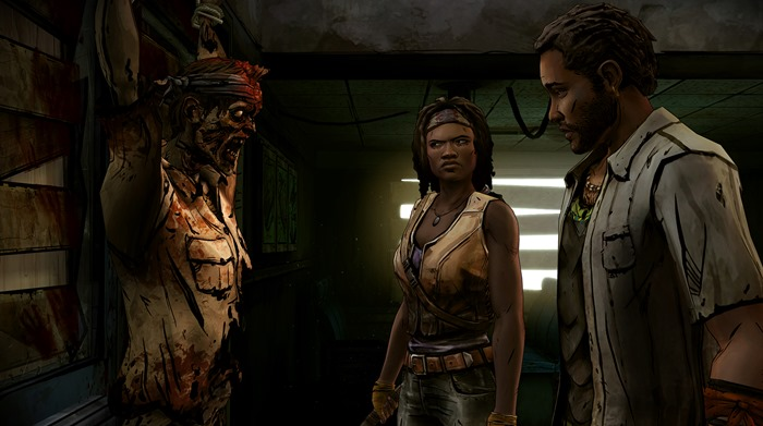 The Walking Dead Michonne screenshot