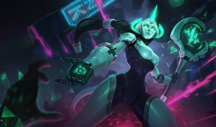 League of Legends Program Soraka skin splash art