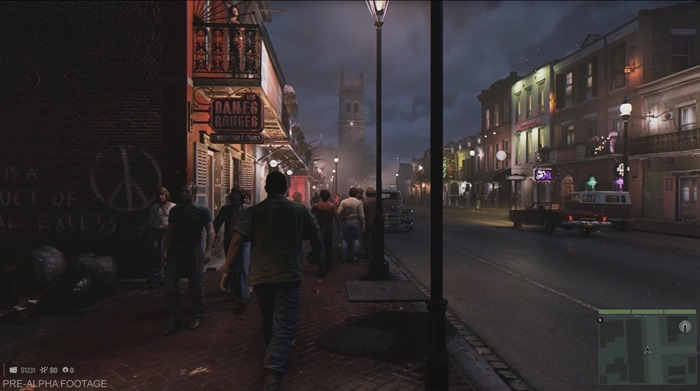 Mafia 3 screenshot walking