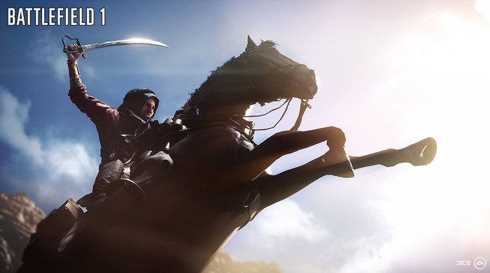 Battlefield 1 playable female character screenshot