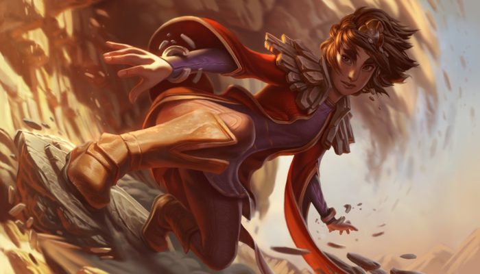 League of Legends Champion Taliyah, The Stoneweaver Revealed