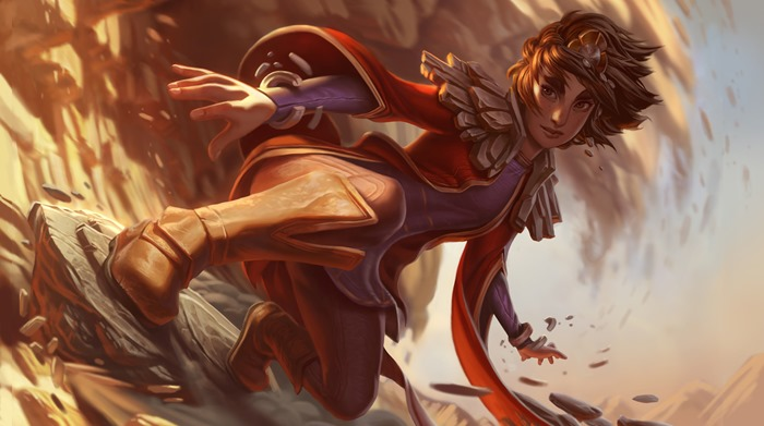 League of Legends Taliyah wallpaper