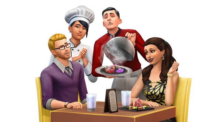 The Sims 4 Dine Out game pack lets players run their own restaurant