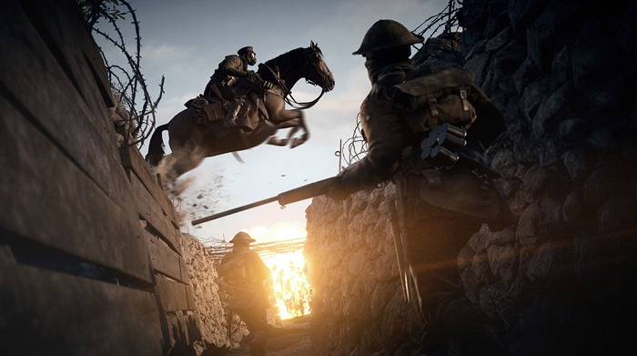 Battlefield 1 gameplay trailer, multiplayer diversity