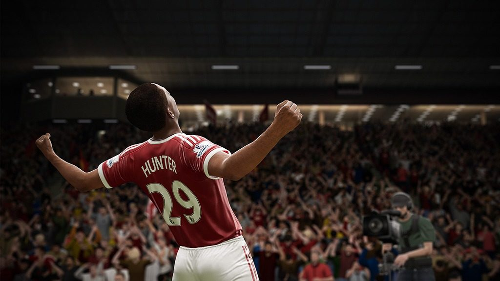 FIFA 17 story mode Alex Hunter