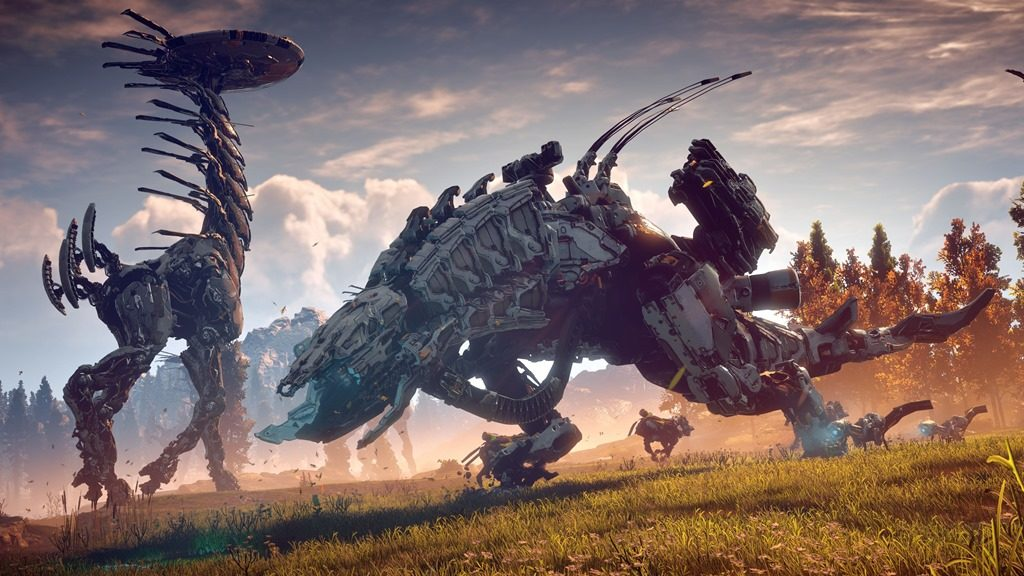 Horizon Zero Dawn screenshot Thunderjaw Tallneck