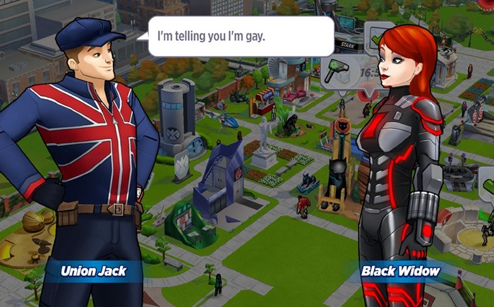 Marvel Avengers Academy Union Jack comes out
