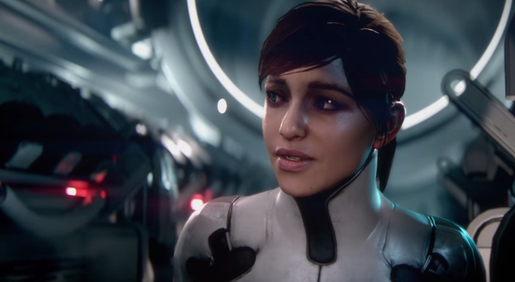 Mass Effect: Andromeda female protagonist