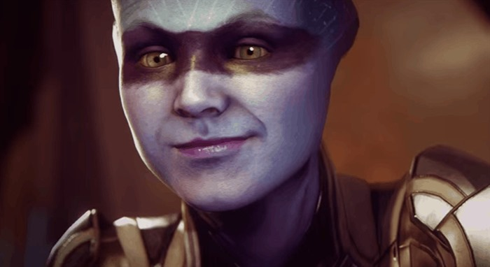 Mass Effect: Andromeda gameplay trailer Asari screenshot