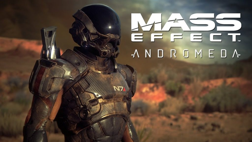 Mass Effect: Andromeda protagonist