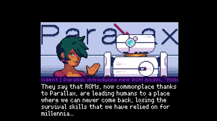 Read Only Memories PS4 and PS Vita screenshot