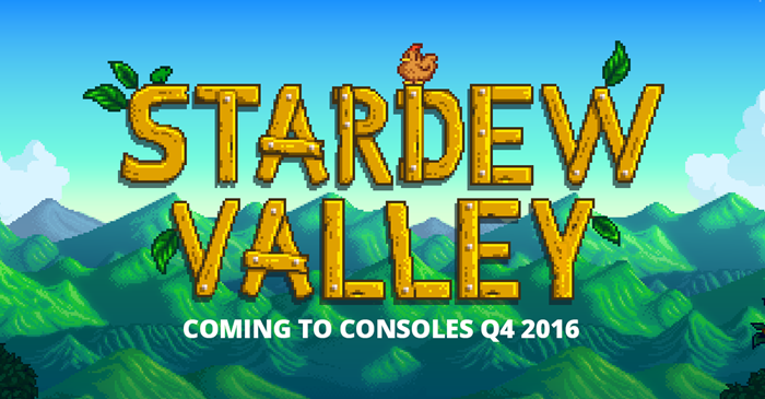 Stardew Valley consoles PS4, Xbox One, Wii U