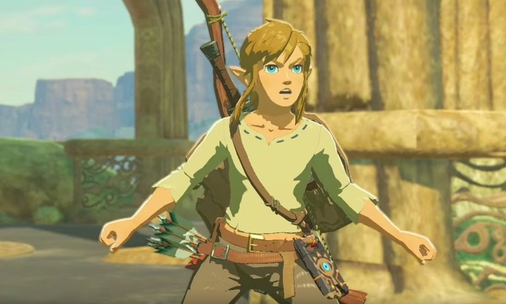 The Legend of Zelda: Breath of the Wild no female character