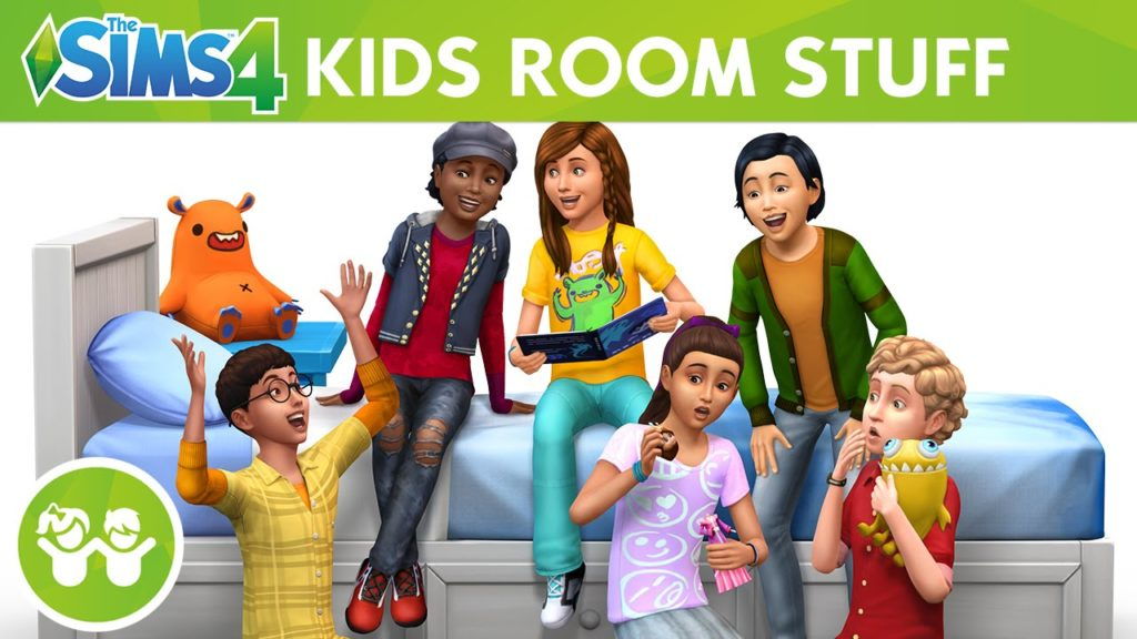 The Sims 4 Kids Room Stuff details and trailer