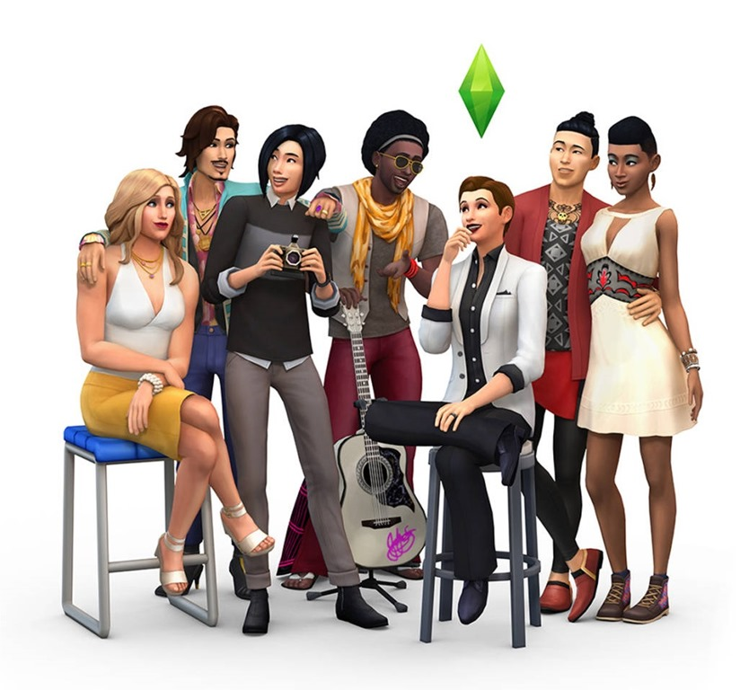 The Sims 4 gender update