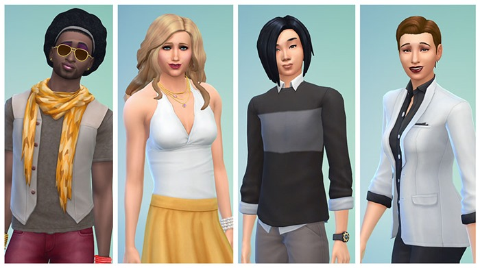 The Sims 4 removes gender restrictions