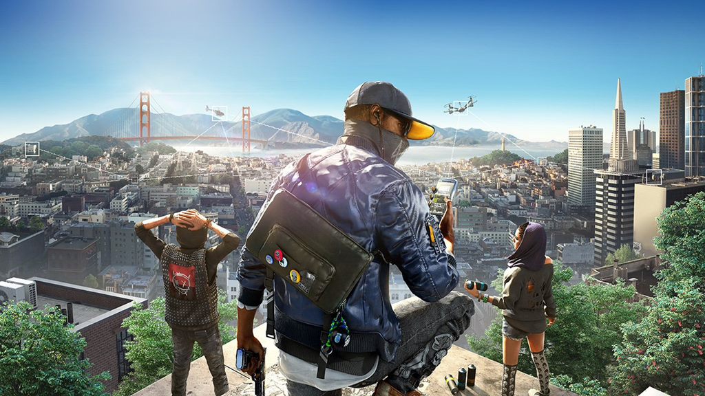 Watch Dogs 2 gameplay trailer E3 2016
