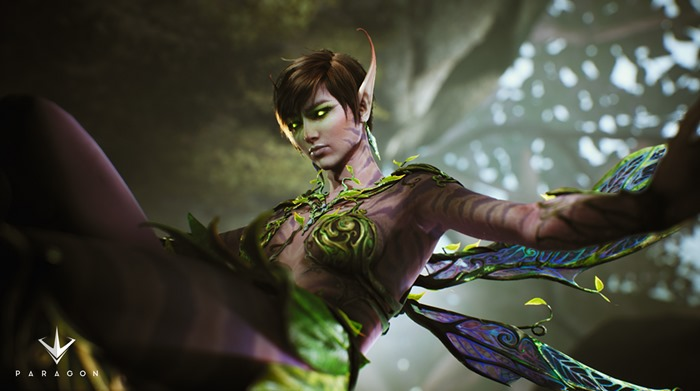 Paragon female character The Fey