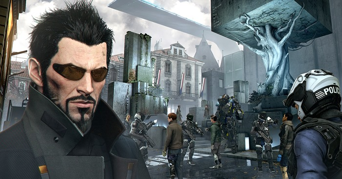 Deus Ex Mankind Divided Aug Lives Matter controversy