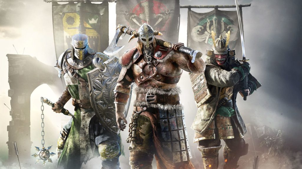 For Honor female characters and Black Vikings