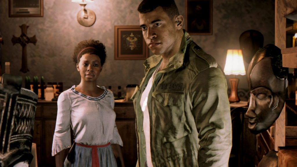 Mafia 3 screenshot Cassandra and Lincoln