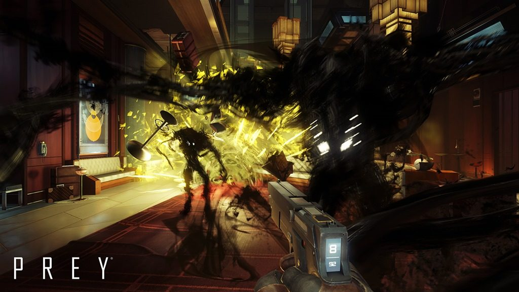 Prey gameplay trailer QuakeCon 2016