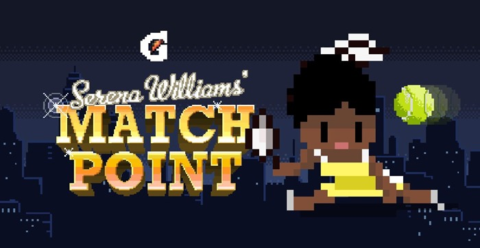Snapchat video game Serena Williams