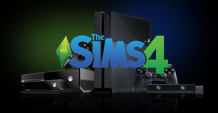 The Sims 4 PS4 and Xbox One no plans