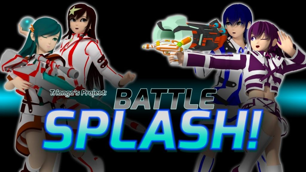 Battle Splash game female characters