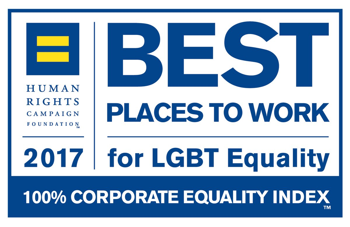 Human Rights Campaign best place to work LGBT equality