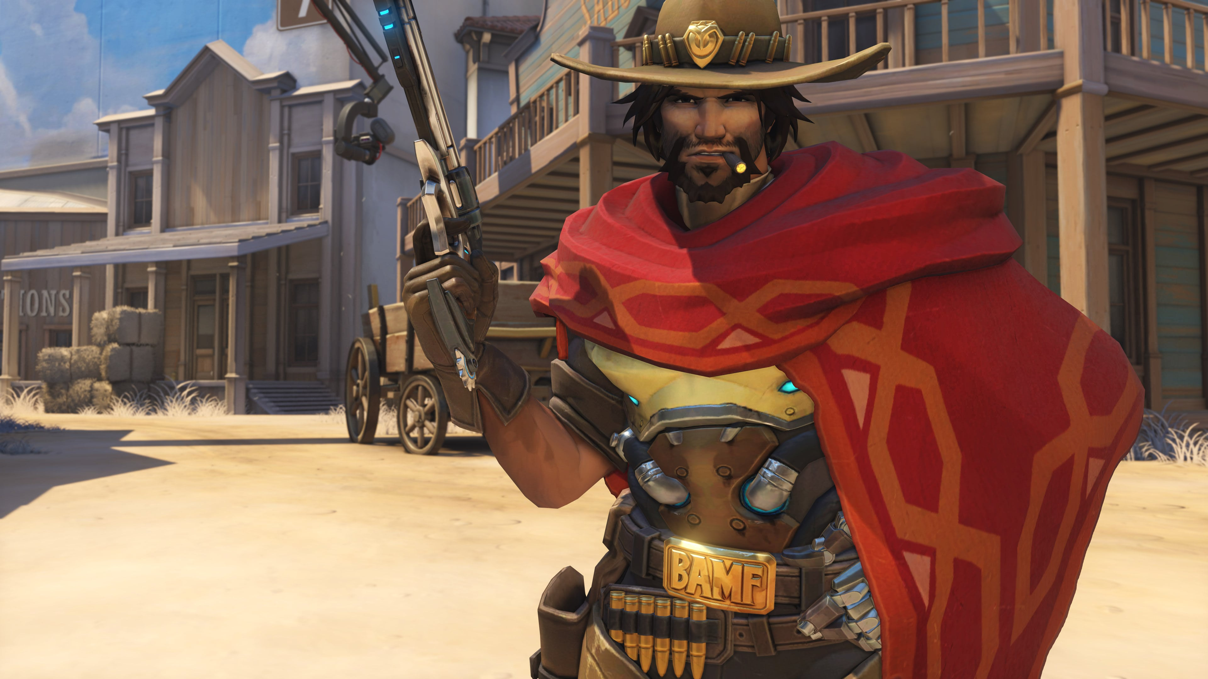 Overwatch McCree discusses gay Tracer