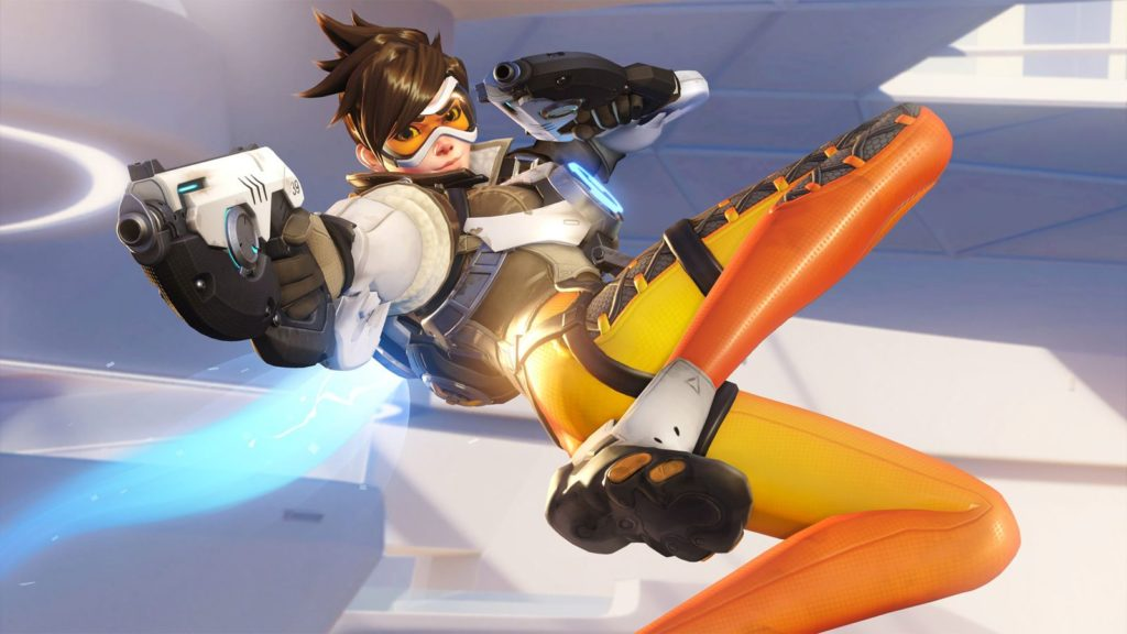 Overwatch gay character Tracer