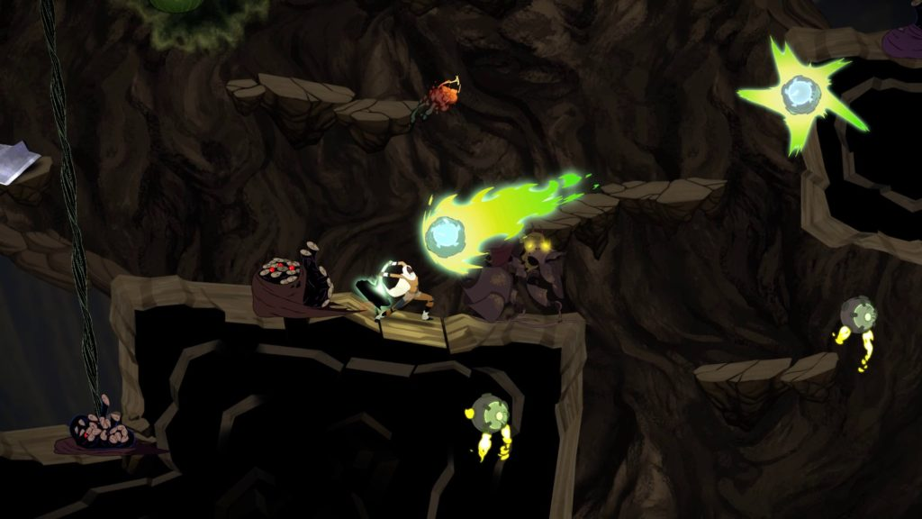Sundered game combat screenshot