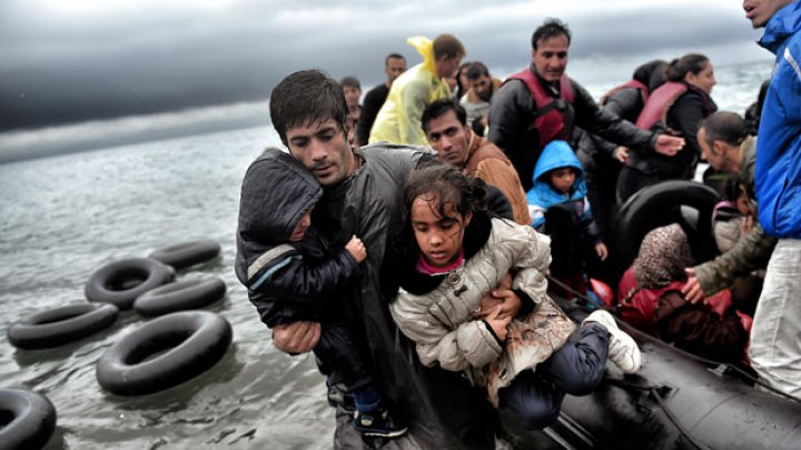 Migrants in Greece