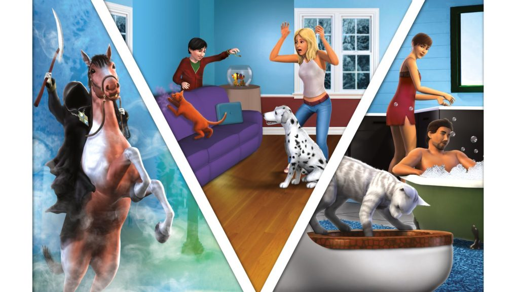 The Sims 3 Pets art