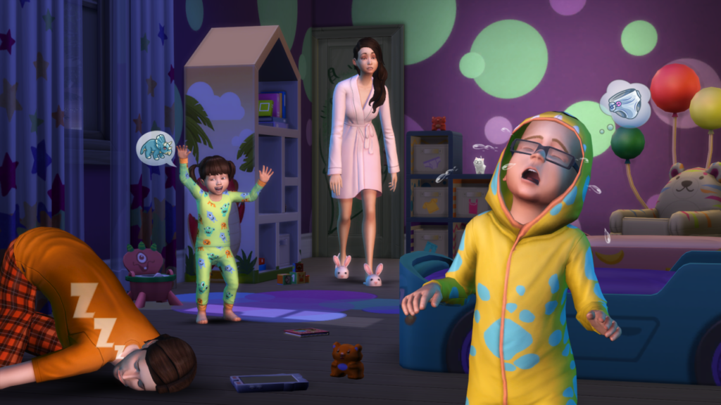 The Sims 4 toddlers free update