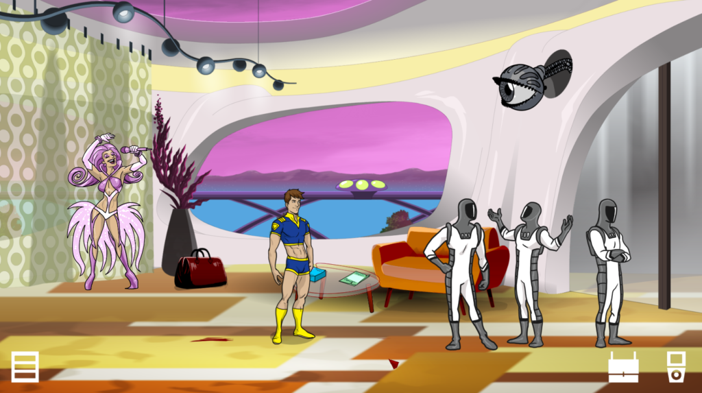 Escape from Pleasure Planet game screenshot