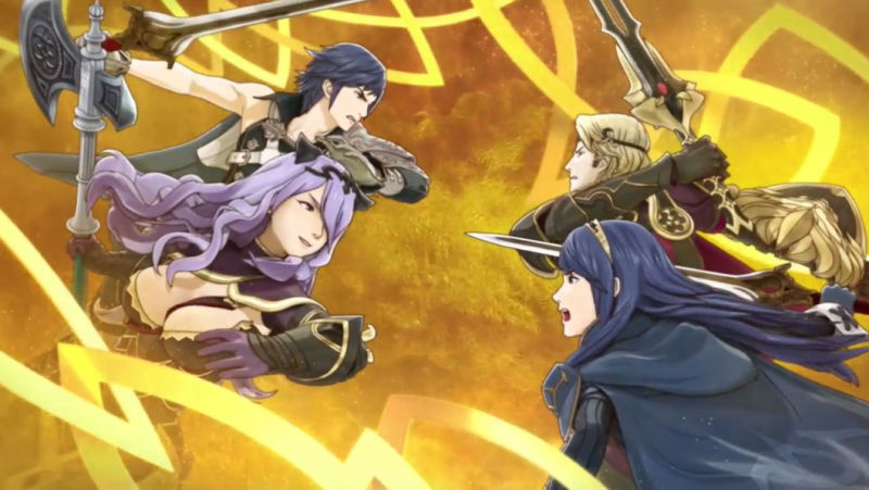 Fire Emblem Heroes marriage feature Nintendo