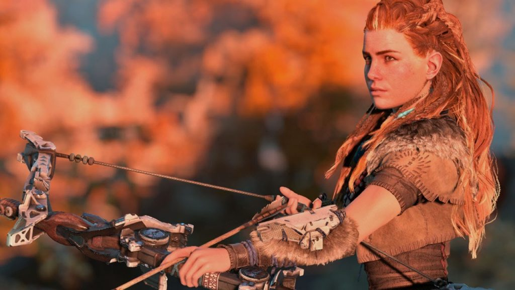 Horizon Zero Dawn female protagonist selling point