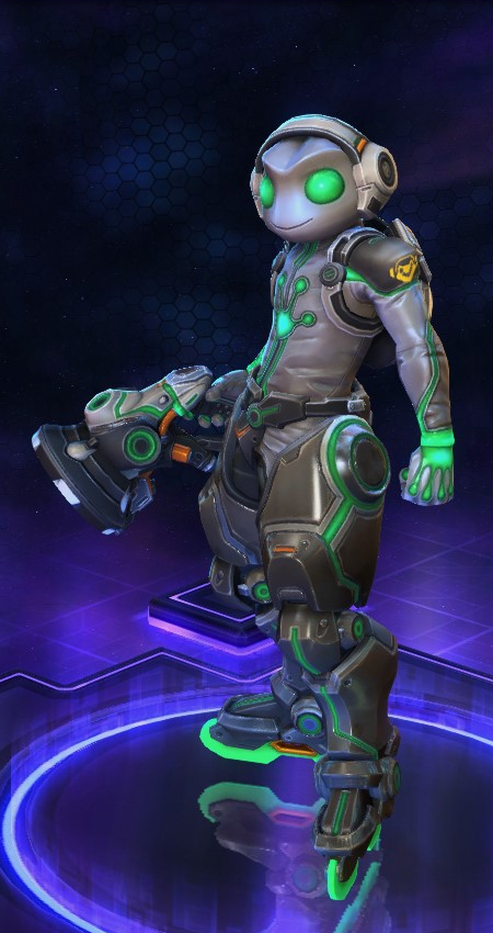 Lucio Heroes of the Storm Ribbit skin