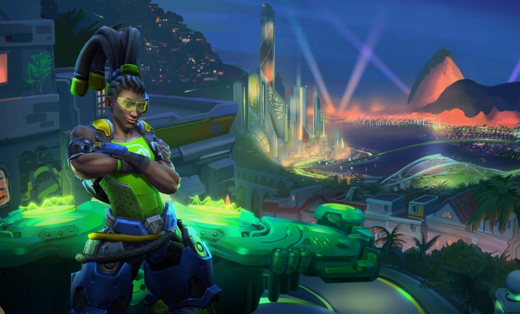 Overwatch Lucio joins Heroes of the Storm