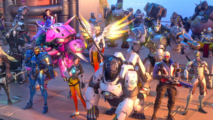 New 'Overwatch' Characters: Tweet shows OR15s in image taken by Efi Oladele