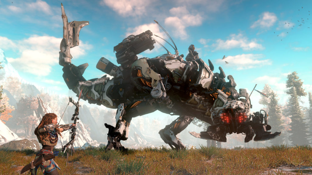 Horizon Zero Dawn biggest PS4 franchise launch