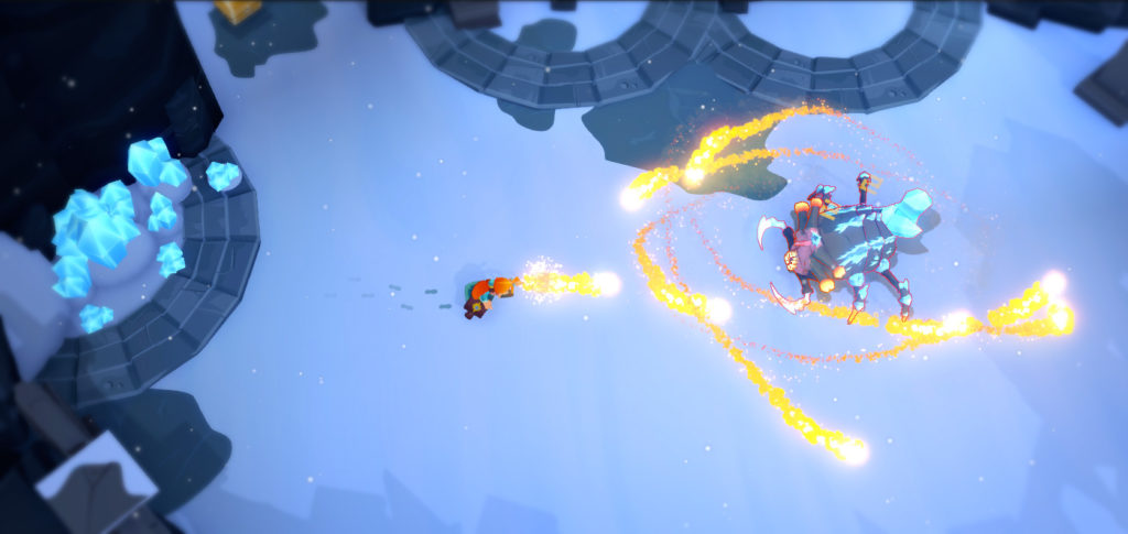 Mages of Mystralia screenshot combat